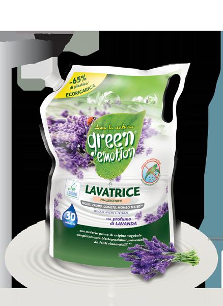 Eco-refill Lavender washing<br> machine detergent