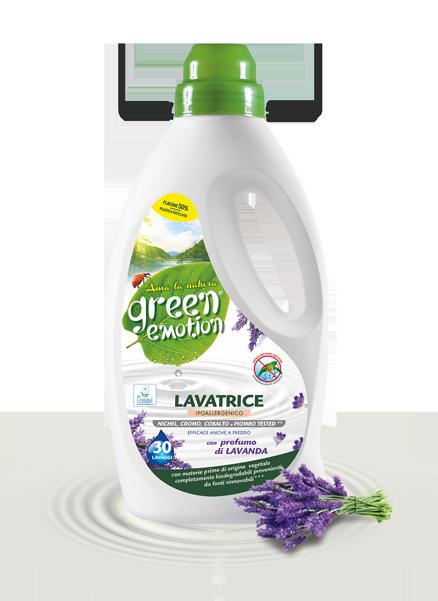 Lavender washing <br> machine detergent