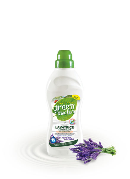 Lavender concentrated<br> washing machine detergent