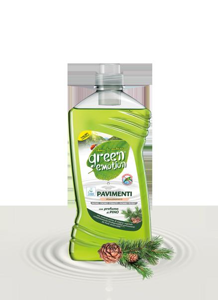 Pine floor detergent