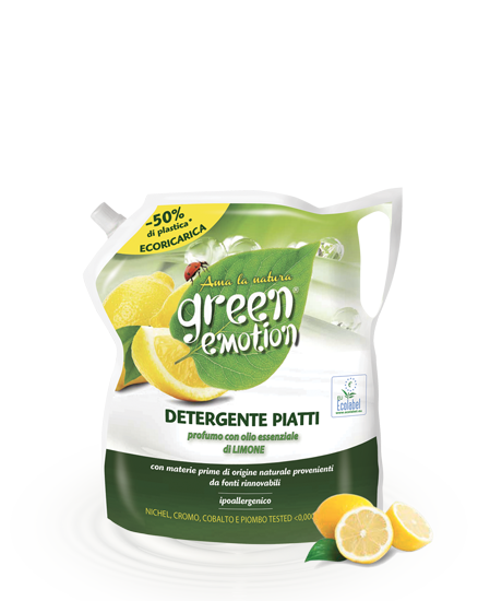 Detergente piatti Limone ecoricarica