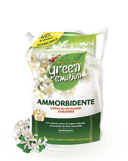 AMMORBIDENTE ECORICARICA 1500ml gelsomino green emotion