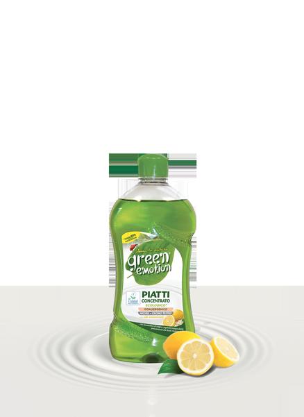 PIATTI CONCENTRATO 500ml limone green emotion