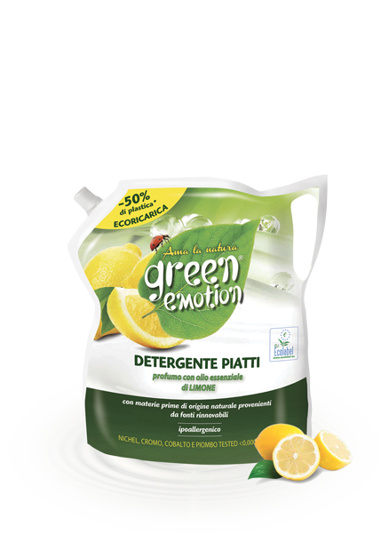 PIATTI ECORICARICA 1000 limone green emotion