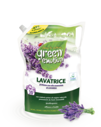 detersivo lavatrice ECORICARICA 1500ml lavanda green emotoin
